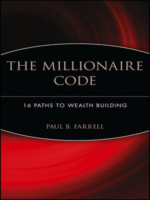 cover image of The Millionaire Code