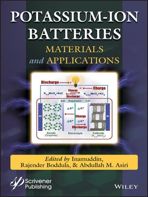 cover image of Potassium-ion Batteries
