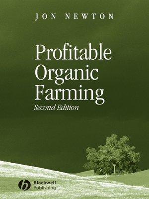 cover image of Profitable Organic Farming