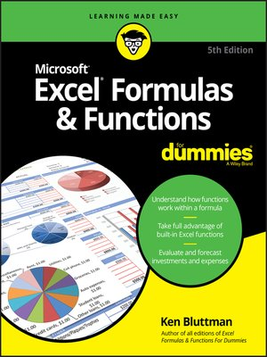 cover image of Excel Formulas & Functions For Dummies