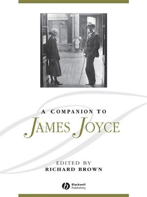 cover image of A Companion to James Joyce