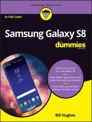 cover image of Samsung Galaxy S8 For Dummies