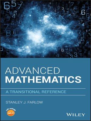 cover image of Advanced Mathematics
