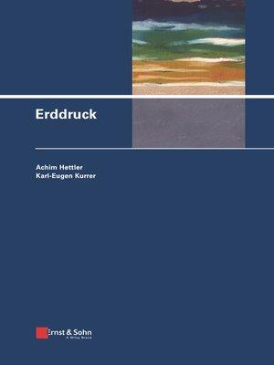 cover image of Erddruck