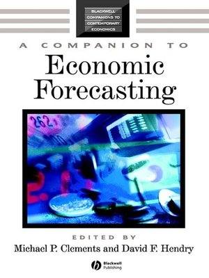 cover image of A Companion to Economic Forecasting