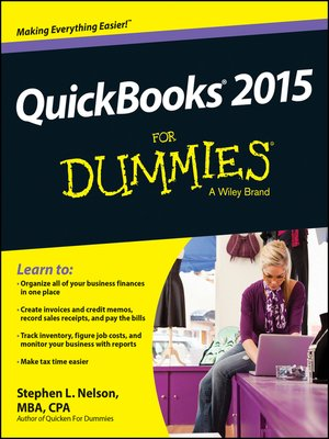 cover image of QuickBooks 2015 For Dummies