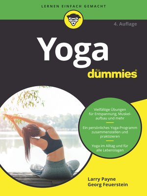 cover image of Yoga für Dummies