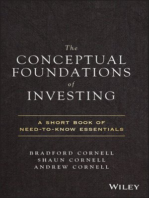 cover image of The Conceptual Foundations of Investing