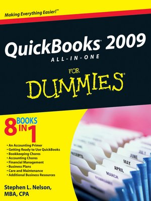 cover image of QuickBooks 2009 All-in-One For Dummies®