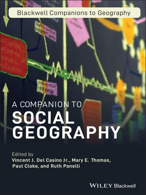 cover image of A Companion to Social Geography