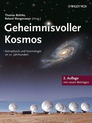 cover image of Geheimnisvoller Kosmos