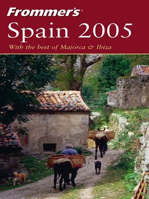 cover image of Frommer's Spain 2005