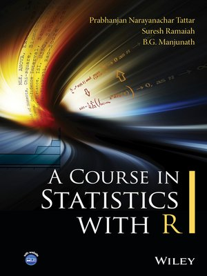 cover image of A Course in Statistics with R