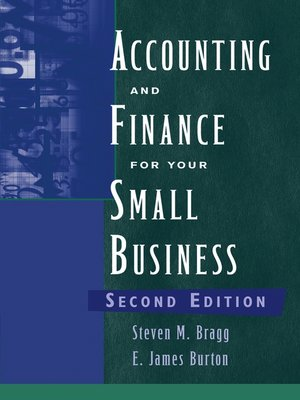 cover image of Accounting and Finance for Your Small Business
