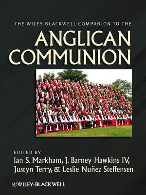 cover image of The Wiley-Blackwell Companion to the Anglican Communion