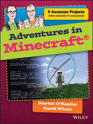cover image of Adventures in Minecraft