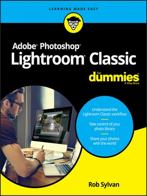 cover image of Adobe Photoshop Lightroom Classic For Dummies