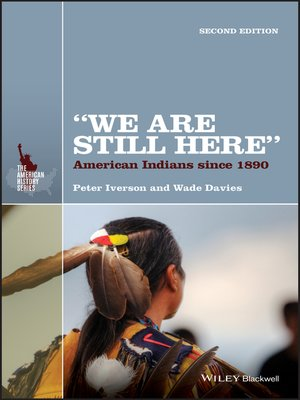 """cover image of """"We Are Still Here"""""""