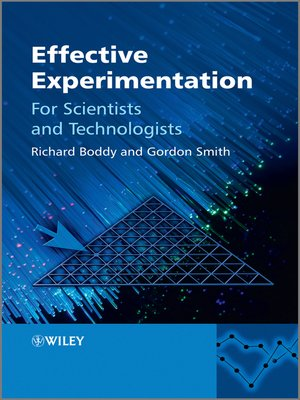 cover image of Effective Experimentation