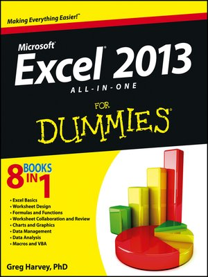 cover image of Excel 2013 All-in-One For Dummies