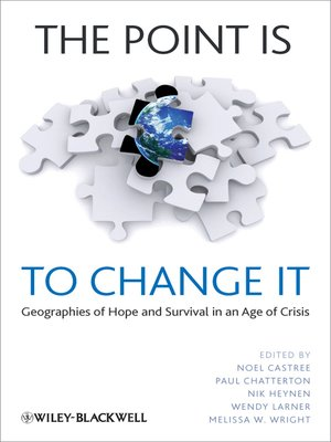 cover image of The Point Is to Change It