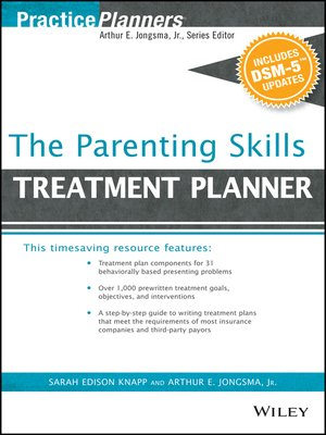 cover image of The Parenting Skills Treatment Planner, with DSM-5 Updates