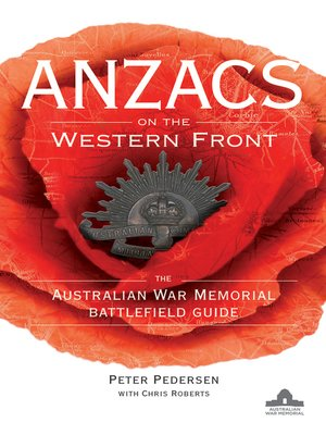 cover image of ANZACS on the Western Front