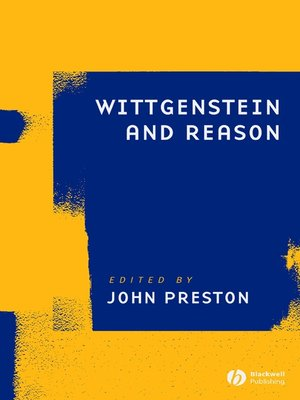 cover image of Wittgenstein and Reason
