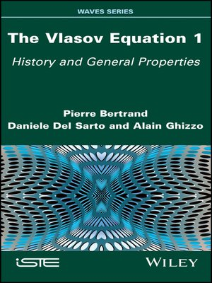 cover image of The Vlasov Equation 1