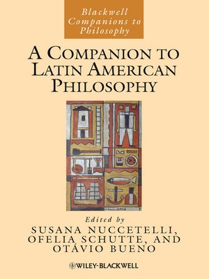 cover image of A Companion to Latin American Philosophy