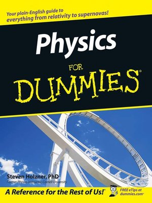 cover image of Physics For Dummies