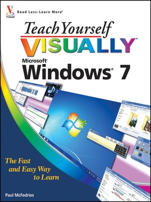 cover image of Teach Yourself VISUALLY Windows 7