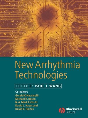 cover image of New Arrhythmia Technologies