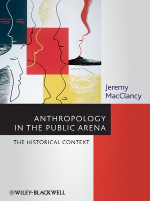 cover image of Anthropology in the Public Arena
