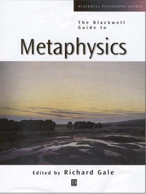 cover image of The Blackwell Guide to Metaphysics