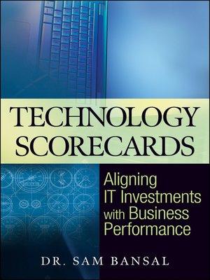cover image of Technology Scorecards