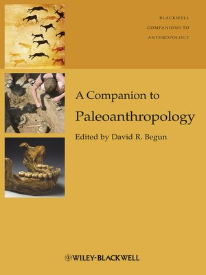 cover image of A Companion to Paleoanthropology