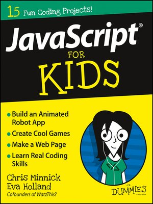 cover image of JavaScript For Kids For Dummies
