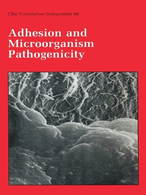 cover image of Adhesion and Microorganism Pathogenicity