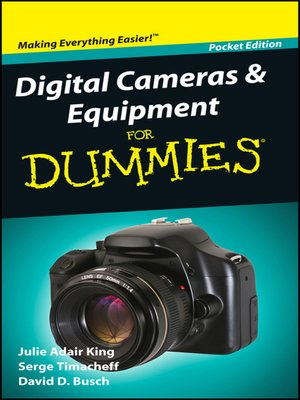 cover image of Digital Cameras and Equipment For Dummies<sup>&#174;</sup>