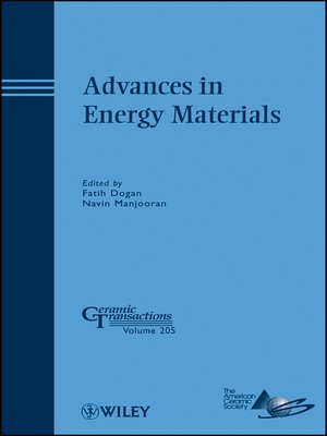 cover image of Advances in Energy Materials