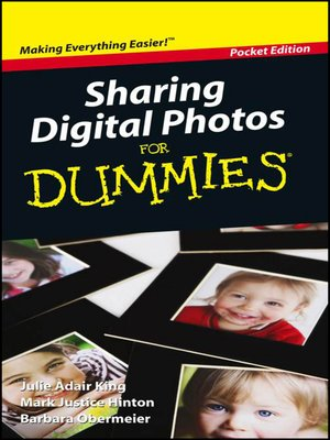 cover image of Sharing Digital Photos For Dummies