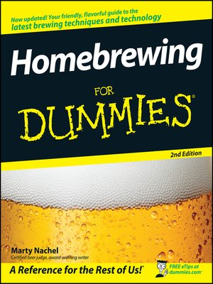 cover image of Homebrewing For Dummies