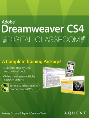 cover image of Dreamweaver CS4 Digital Classroom