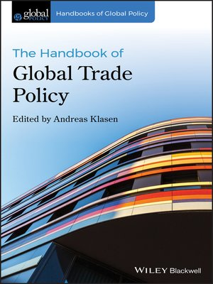 cover image of The Handbook of Global Trade Policy