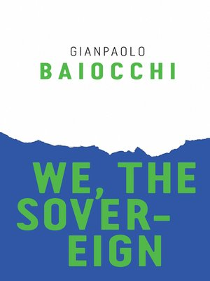 cover image of We, the Sovereign