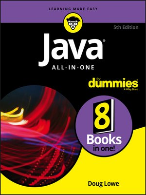 cover image of Java All-in-One For Dummies