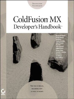 cover image of ColdFusion MX Developer's Handbook