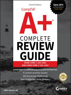 cover image of CompTIA A+ Complete Review Guide