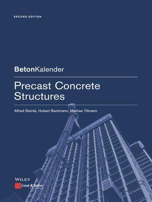 cover image of Precast Concrete Structures